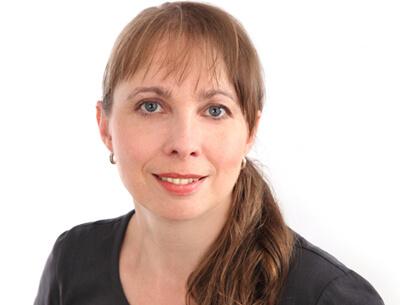 Mitarbeiterin der Physiotherapie Ines Müller auf der Barbarossastraße 101 auf dem Kaßberg in Chemnitz