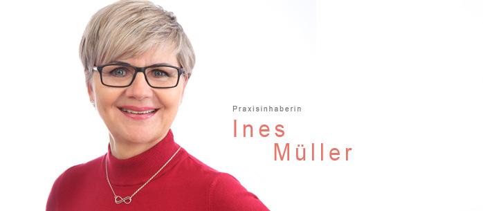 Inhaberin der Physiotherapie Ines Müller auf der Barbarossastraße 101 auf dem Kaßberg in Chemnitz